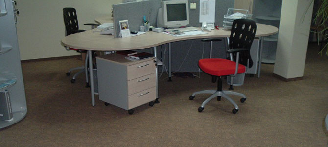 Realizacja wykładziny obiektowe w obiektach biurowych